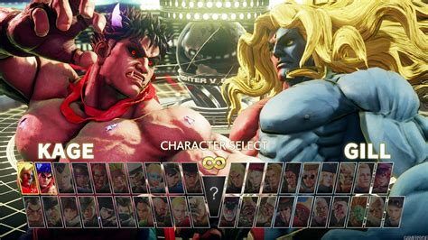 Street Fighter V reveals Gill and Champion Edition - Gamersyde