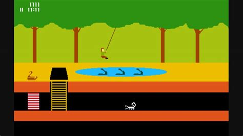 PITFALL Rope Swing in MS Paint - YouTube