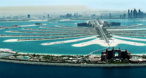 Beautiful view of Palm Jumeirah Island - The best view i