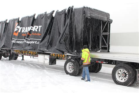Canadian Roll-tite, Conestoga, Flatbed, Rack and Tarp Carrier