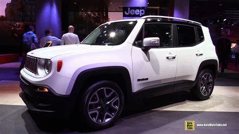 2015 Jeep Renegade Diesel Limited - Exterior and Interior