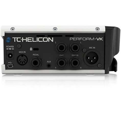 TC Helicon Perform VK Pro Vocal FX Unit for Keyboardists