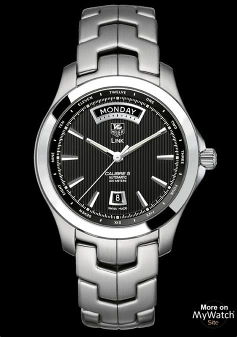 Watch TAG Heuer LINK Calibre 5 Day-Date   LINK WJF2010