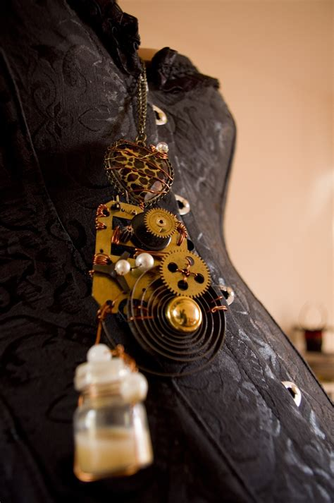 Time Traveller's Steampunk Necklace · A Hardware Necklace