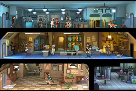 Fallout Shelter throws crafting, parrots into the vault